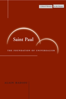 Saint Paul : The Foundation of Universalism, Paperback / softback Book
