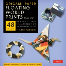 Origami Paper : Floating World Ukiyo-E Prints (Small), Mixed media product Book