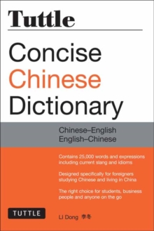 Tuttle Concise Chinese Dictionary : Chinese-English English-Chinese, Paperback Book