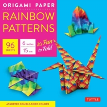 Origami Paper : Rainbow Patterns, Mixed media product Book