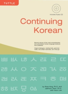 Continuing Korean : Includes CD-ROM of Audio Recordings, Mixed media product Book