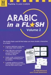 Arabic in a Flash : Volume 2, Mixed media product Book