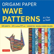 Origami Papers Wave Patterns, Paperback Book