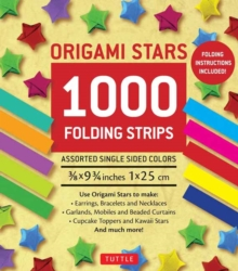Origami Stars : 1000 Paper Strips, Kit Book