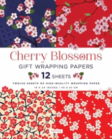 Cherry Blossoms Gift Wrapping Papers, Paperback Book