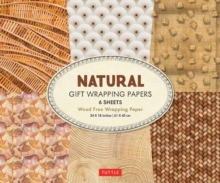 All Natural Gift Wrapping Papers : 6 Sheets of High-Quality 24 x 18 inch Wrapping Paper, Paperback / softback Book
