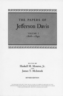 The Papers of Jefferson Davis : 1808-1840, PDF eBook