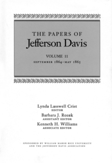 The Papers of Jefferson Davis : September 1864-May 1865, EPUB eBook