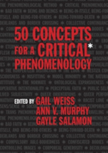 50 Concepts for a Critical Phenomenology, EPUB eBook