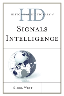 Historical Dictionary of Signals Intelligence, EPUB eBook