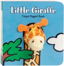 Little Giraffe Finger Puppet Book, Board book Book