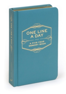 One Line a Day : A Five-Year Memory Book, Calendar Book