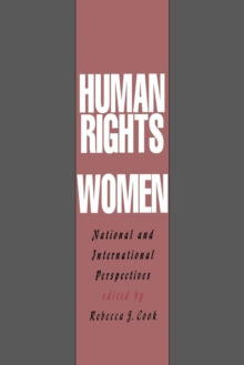 Human Rights of Women : National and International Perspectives, Paperback / softback Book