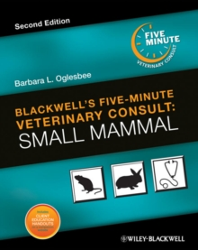 Blackwell's Five-Minute Veterinary Consult : Small Mammal, Hardback Book