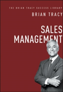 Sales Management: The Brian Tracy Success Library, Hardback Book