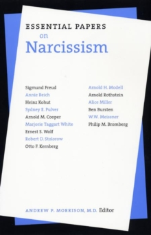 Essential Papers on Narcissism, Paperback Book