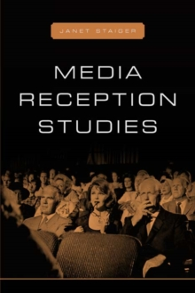 Media Reception Studies, Paperback Book