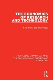 The Economics of Research and Technology, Paperback / softback Book