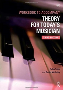 Theory for Today's Musician Workbook, Paperback / softback Book