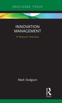 Innovation Management : A Research Overview, Hardback Book