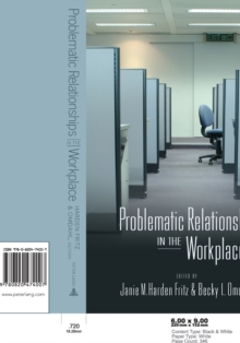 Problematic Relationships in the Workplace, Paperback / softback Book
