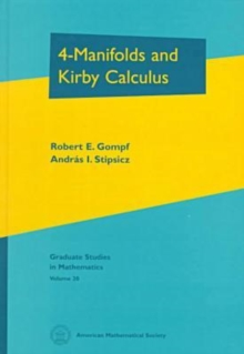 4-Manifolds and Kirby Calculus, Paperback Book