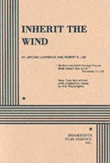 Inherit the Wind, Paperback Book