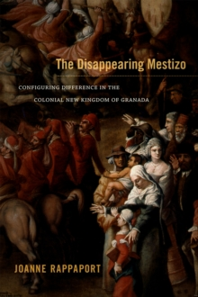 The Disappearing Mestizo : Configuring Difference in the Colonial New Kingdom of Granada, Paperback Book