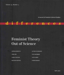 Feminist Theory Out of Science, Paperback Book