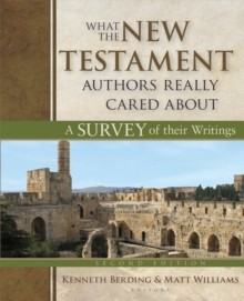 What the New Testament Authors Really Cared About : A Survey of Their Writings, Hardback Book
