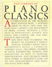 Library of Piano Classics : Piano Solo, Book Book