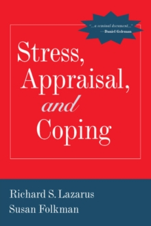 Stress, Appraisal, and Coping, Paperback / softback Book
