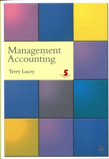 Management Accounting, Paperback Book