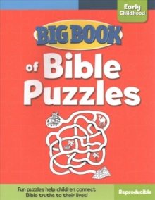 Big Book of Bible Puzzles for Early Childhood, Paperback Book