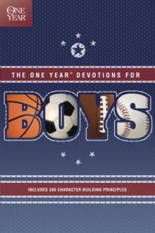 One Year Book of Devotions for Boys, Paperback Book