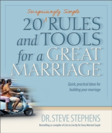 20 (Surprisingly Simple Rules and Tools for a Great Marriage, Paperback Book