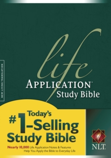 NLT Life Application Study Bible, Hardback Book