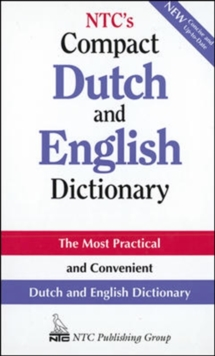 NTC's Compact Dutch and English Dictionary, Paperback / softback Book