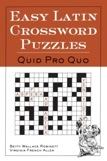 Easy Latin Crossword Puzzles, Paperback Book