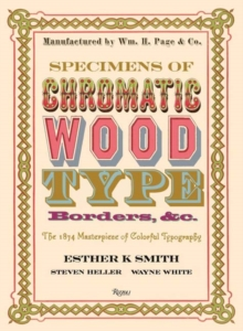 Specimens of Chromatic Wood Type, Borders, &c., Hardback Book