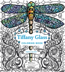 Tiffany Glass Coloring Book, Paperback Book