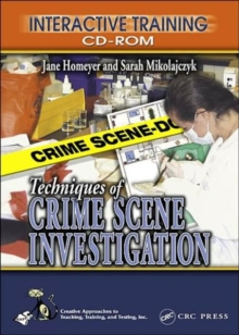 Techniques of Crime Scene Investigation Interactive Training CD-ROM, CD-ROM Book