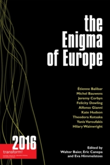 The Enigma of Europe : Transform!, Paperback Book