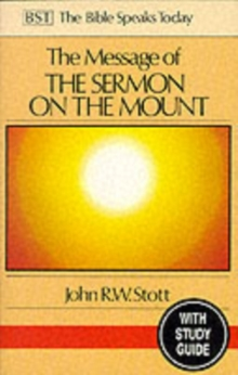 The Message of the Sermon on the Mount : Christian Counter-culture With Study Guide, Paperback / softback Book