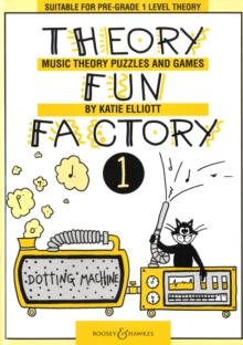 Theory Fun Factory 1 : Music Theory Puzzles and Games, Paperback Book