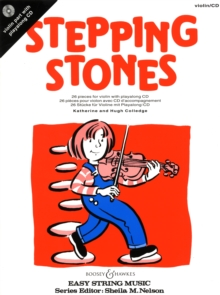 Stepping Stones for Violin : 26 Pieces for Beginners, Mixed media product Book