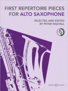 First Repertoire Pieces for Alto Saxophone, Mixed media product Book