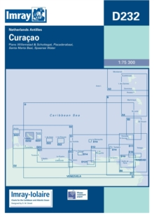 Imray Iolaire Chart D232 : Curacao, Sheet map, folded Book