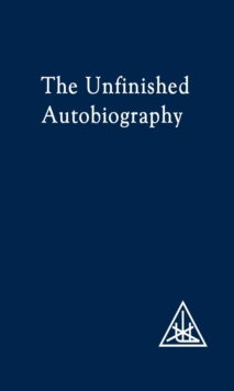 The Unfinished Autobiography, Paperback Book