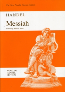 G.F. Handel : Messiah (Watkins Shaw) - Paperback Edition Vocal Score, Paperback Book